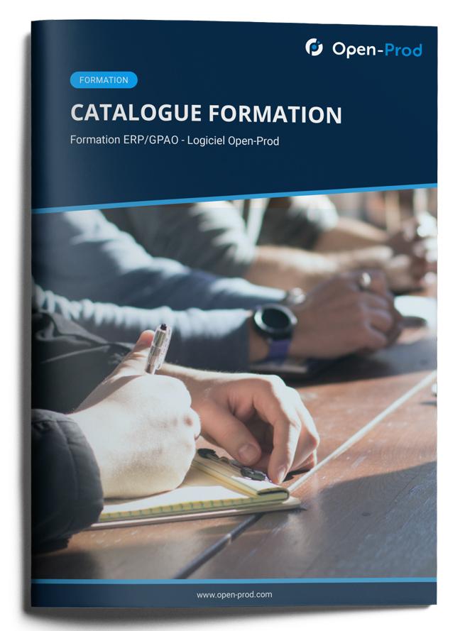 Mockup catalogue de formations